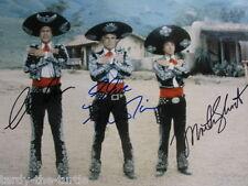 ¡Three Amigos!  8 x 10 Autograph Reprint Steve Martin  Chevy Chase  Martin Short