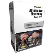 PM Automotive Mechanics Electrical System Component Repair Training Course PC CD