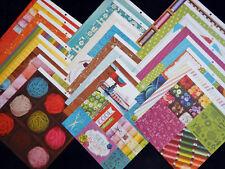 12X12 Scrapbook Cardstock Paper Handmade Love Sewing Knitting Crochet Quilter 24