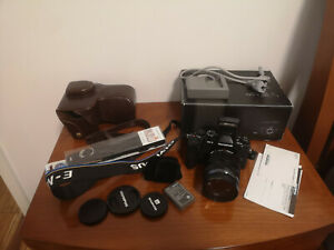OLYMPUS OM-D E-M1 With 12-40mm ƒ/2.8 PRO Lens Black Excellent Condition
