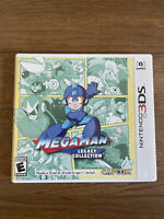 Mega Man Legacy Collection (Nintendo 3DS, 2016) w/ Collectible stickers ⚡️🚢