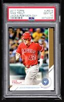 MIKE TROUT  ANGELS  2017 TOPPS JACKIE ROBINSON DAY INSERT   - PSA 10 GEM MINT
