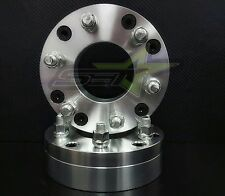 "2 WHEEL ADAPTERS 5x4.5 to 6x5.5 | USE 6 LUG WHEELS ON 5 LUG CAR | 2"" INCH THICK"