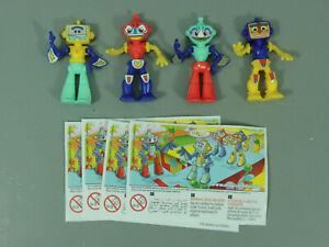 SPIELZEUG: Roboter Indien 2009 DE371 ff. - Komplettsatz + alle BPZ