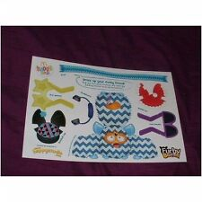 McDonalds happy meal pop-out / cut out furby