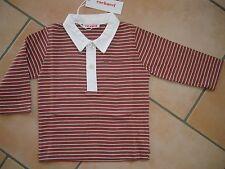 (163) Süßes Cacharel Baby Langarm Polo Shirt +Logo Stickerei auf der Brust gr.98