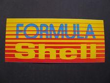 Ancien Autocollant FORMULA SHELL