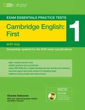 CAMBRIDGE ENGLISH FIRST FCE EXAM ESSENTIAL PRACTICE TESTS 1