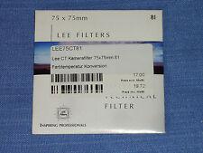 Lee Filter (Wratten) 75x75mm  81