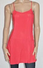 DIVIDED Designer Coral Summer Skater Dress Size S BNWT #si88