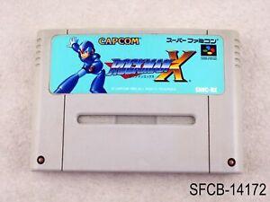 Rockman X Super Famicom Japanese Import SFC SNES Mega Man JP Japan US Seller B