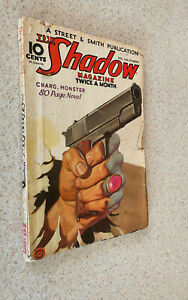 THE SHADOW Pulp Magazine -- December 15 1934 Issue