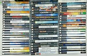 PlayStation PSP Games Complete Fun Pick & Choose Video Games - Updated 6-18-21