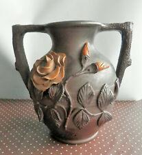 Cruche décorative NORON LA POTERIE, marquée Lisieux, vase, pot