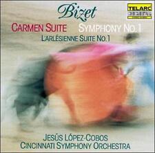 Carmen Suite 2 / L'Arlesienne / Symphony 1, New Music