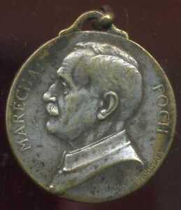 médaille marechal  FOCH  1918