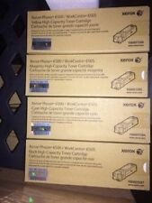 Xerox Phaser 6500/WorkCentre 6505, High Capacity toner set oem