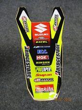 Suzuki RMZ450 2008-2017 New Makita Bridgestone team rear fender graphic RM1243