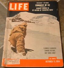 Life - Conquest of K2 - Oct 11, 1954 - Mays, New York Giants Win World Series