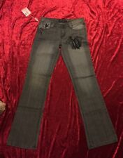 BNWT GORGEOUS VERSACE DESIGNER WOMENS DENIM JEANS PANTS 👖SIZE 28