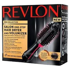 Revlon PRO Collection Salon One Step Hair Dryer and Volumizer Brush Pink - New