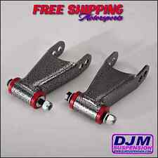 "DJM Suspension 2"" Drop Kit Chevy GMC C10 68-72 Lowering Drop Shackles"