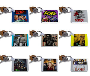 Greatest TV shows Keyrings - Keychain - Gift Key Chain Series