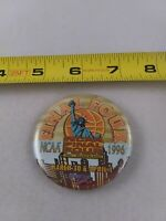 Vintage 1996 NCAA FINAL FOUR Meadowlands New York pin button pinback *EE78