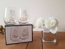 Disney Princess Tumbler Glass Gin Wine Xmas Gift Set Licensed