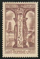 France 1935 MNH Mi 298 Sc 302 Roman Catholic Church of St. Trophime, Arles **
