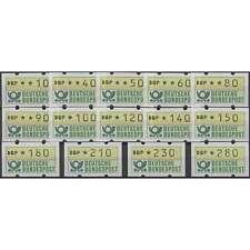 BRD Bund ATM 1.2 - 14 Werte mit fettem Aufdruck postfrisch **