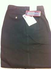 ROUNDTREE & YORKE NEW NWT KHAKI CLASSIC FIT PANTS 42 X 31 BLACK FREE SHIPPING