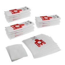 MIELE FJM replacement Hoover Microfibre VACUUM DUST BAGS x20 & 4 Free  Filters