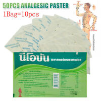 50pcs/set Analgesic Paster Pain Relief Patch Muscle Aches Rheumatism Pads Tool