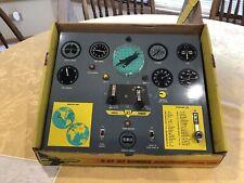 Vintage 50s War Toy HUB CO B-47 Plane Jet Bomber Control Panel WWII w/ Box
