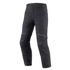 Pantalons noirs textiles Dainese pour motocyclette