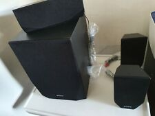 Sony Surround Sound Speakers SS-WSB122 SS-TSB121 SS-CTB121