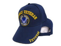 Air Force Veteran Shadow USAF US Embroidered Blue Ball Cap Baseball Cap Hat