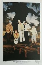 RODRIGUE/SAGA OF THE CAJUNS BEGINNING OF AN INDUSTRY SIGNED & NUMBERED W/CERT