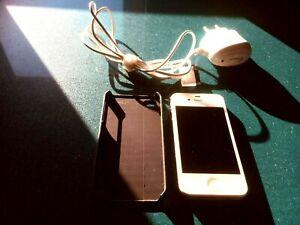 Used Apple White iphone 4s 16g 3G WIFI SmartPhone MobilePhone Unlocked Sim
