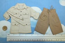 Dragon 1/6TH escala Segunda Guerra Mundial Británico Desierto Camisa y pantalón corto de Eddie Mac