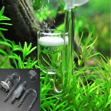 New listing Aquarium Fish Tank Co2 Diffuser U Shape Glass Cup Tube Carbon Dioxide Reactor