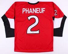 Dion Phaneuf Signed Senators Jersey (Beckett) Playing career  2005–present