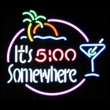 It's 5:00 Somewhere Neon Bar Sign