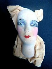 Tête de poupée de salon ancienne Antique French Boudoir doll head