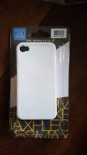 Ultra Thin White Hard Plastic Case Cover For iphone 4 iphone 4S 1pc Pleomax