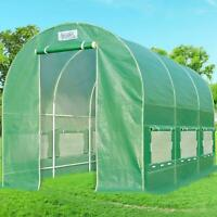 Quictent Greenhouse Outdoor Walk-in Hot Green House Portable Plant Gardening US