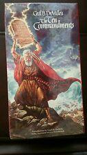 The Ten Commandments VHS, 1998