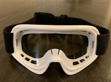 Racing Sports Motocross Motorsport Off-road Paintball Goggles Youth Kid - White
