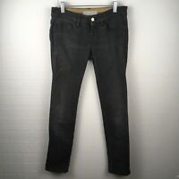 Stella McCartney Jeans 25 Womens Gray Skinny Made In Italy